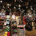 Interior shopping area