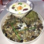 Sea urchin special appetizer