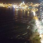 vista desde el restaurante de mariscos piso 23