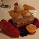 Luscious dessert- part of 7 course tasting menu