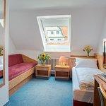 Einzelzimmer B mit Schlafcouchmöglichkeit für bis 2 Perherrlichsonnen
