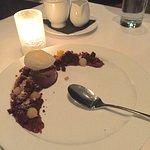 Chocolate Semifreddo dessert.