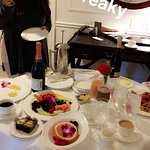 Bridal Shower Breakfast and other foods at the Belmond.