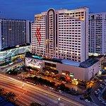 Evening View of Pearl International Hotel Kuala Lumpur