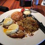 Eggs Baltimore (Eggs Benedict over Crab Cakes)