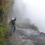 Gravity Assisted Mountain Biking Photo