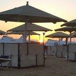 Sunrise from the lagoon beach