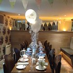 Exclusive use of the restaurant to host a baby shower afternoon tea