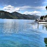 panorama da lago orta