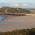 Porthmeor beach across to the Island, St Ives