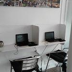computadoras para los huespedes