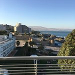 Hotel by the Sea of Galilee
