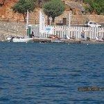 Elounda Blu private beach