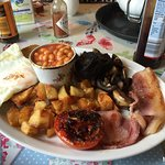 Massive and lovely breakfast