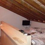 Posizione del letto nel sottotetto