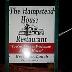 Hampstead House Road side sign