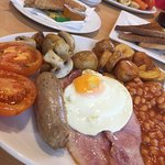 Decent massive breakfast !