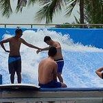 The surf machine