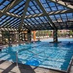 Westgate's indoor-outdoor pool!