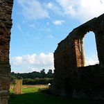 The ruins of Beauvale Priory