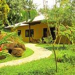 Entrada bungalow familiar / Family bungalow entrance