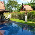Lagon pool villa