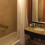 Bathroom in Hilton Hotel Easton Columbus Ohio