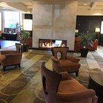 Lobby in Hilton Hotel Easton Columbus Ohio