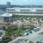 Tampa Convention Center viewed from room 1203