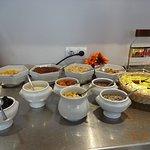 Müsli und Trockenobst