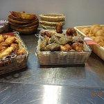 Brötchen und Croissants