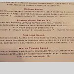 Hose 22 Firehouse Grill menu