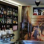 The bar and coffee bar