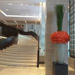 Stairs entrance lobby