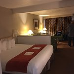 Our King room suite was very nice