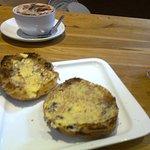 Toasted Teacake at Inger-Lises