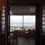 vue panoramique du restaurant sur la mer