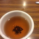 Chinese tea, was good