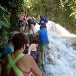 Dunn's River Falls - Stay together