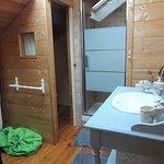 Coin de bain avec toilette séparée