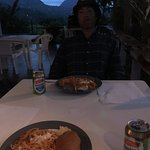 Dinner on the patio ~ View of the mountains!