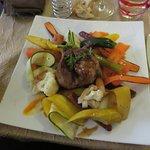 Filet mignon de porc Aveyronnais et carottes fondantes