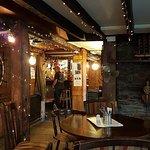 The bar area of the Ship Inn