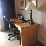 Desk with high speed port