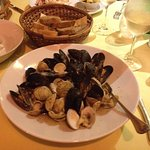 Mixed mussels