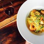 Tagliolini with Shrimps & Zucchini