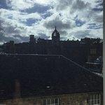 View toward Edinburgh Castle