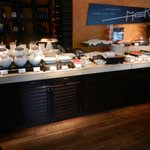 Buffet---Cold food table