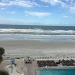 Beach at Daytona Beach Foto