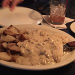 Biscuits & Gravy (full order) w/American Fries